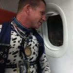 Spot on a plane