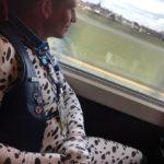 Spot on a train – Antwerp-Amsterdam