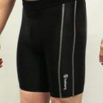 Black Primark baselayer shorts - Left