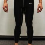 Black Primark baselayer tights - Front
