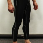 Black Primark baselayer tights - Right