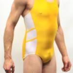 Yellow Adidas Leotard - Right