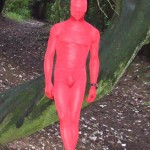 Red Zentai – Forest